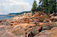 Motivational Paintings of Gary Holland at www.hollandgallery.com  , Landscape gallery, atlantic sunrise